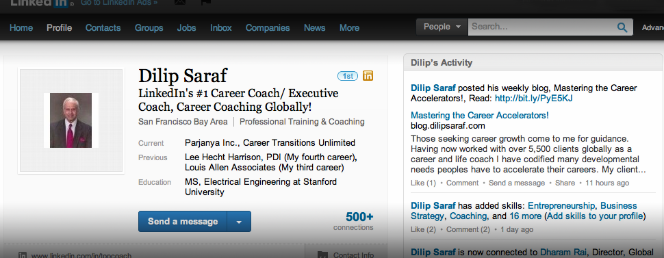 LinkedIn's Top Coach
