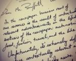 In Praise of Hand-Written Notes!